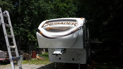 2013 Prime Time Crusader 5th Wheel Decals - Available to Print & Ship