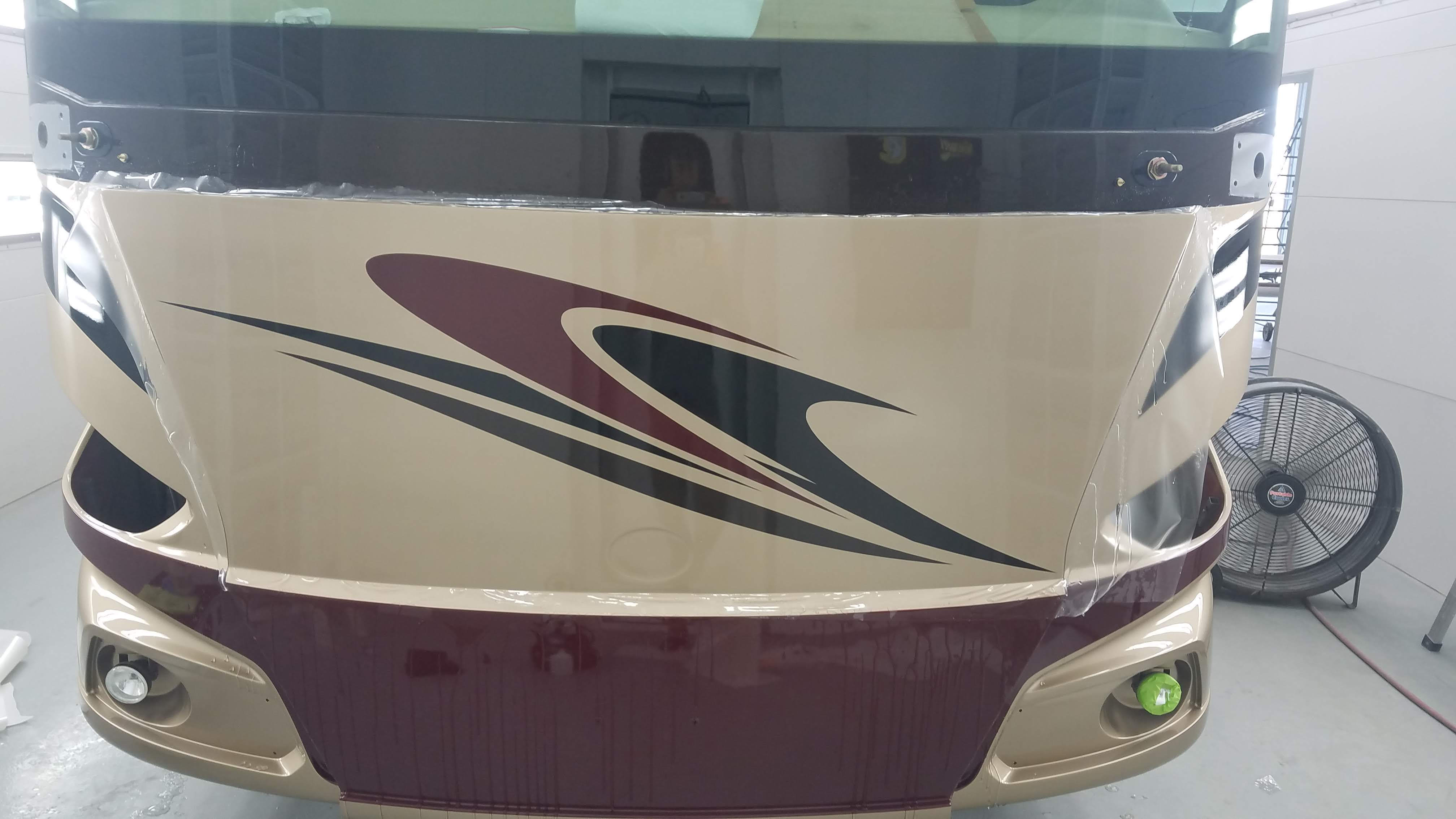 Front Cap Paint Protection Film