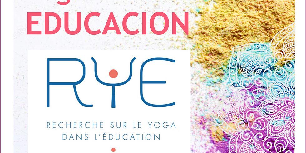 R.Y.E.  Formación en Yoga para la Educación . Charla / Taller Informativa
