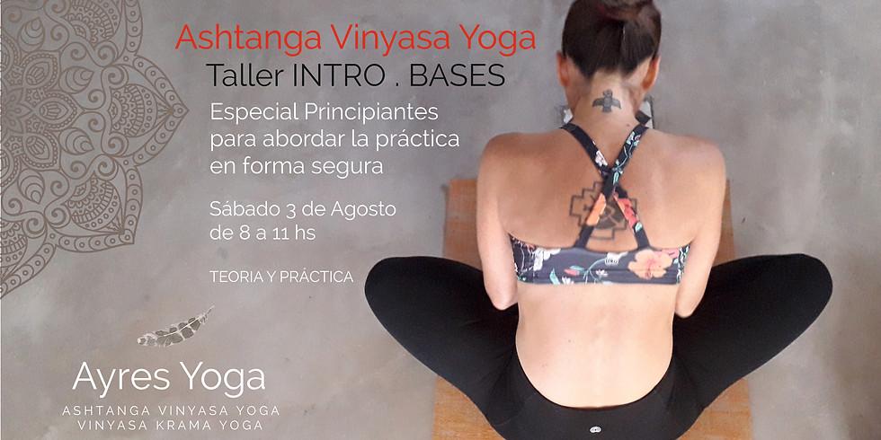 Taller Ashtanga Vinyasa Yoga -INTRO BASES, por Juli Salvi