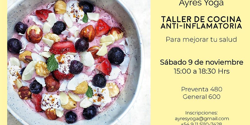 Salud Digestiva y Cocina Inflamatoria, por Pamela Maurana