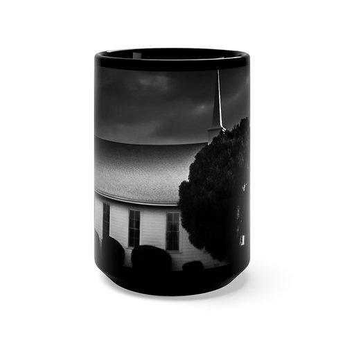 Black Church Mug 15oz