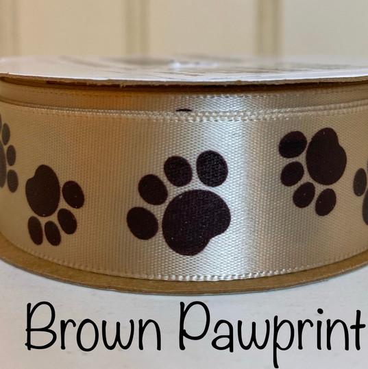 Brown Pawprint
