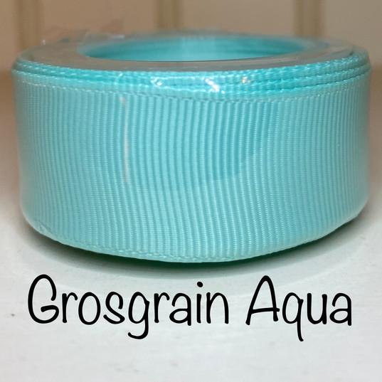 Grosgrain Aqua