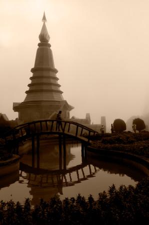 King's pagoda, Doi Inthanon, Thailand
