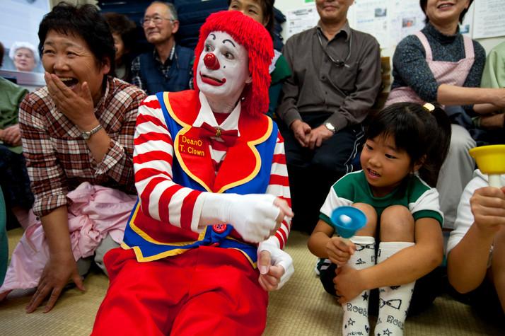 Clowning in Japan