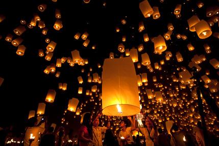 10,000 lanterns