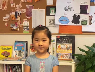 """Our """"star student"""", Lily"""