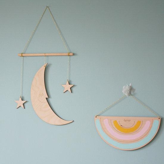 Księżyc z gwiazdkami