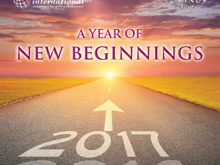 "2017: A ""Year of New Beginnings"""