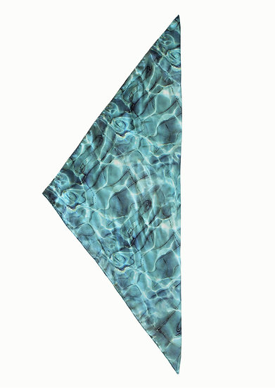 WATER SCARF LRG