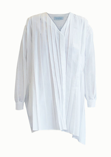 LONG PLEATED SHIRT
