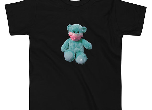 Teddy with Mask Toddler Tee