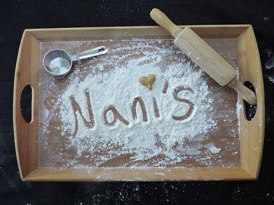 Nani's Cookies Homemade Pan De Polvo