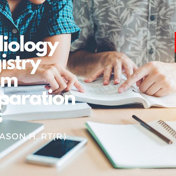 Radiology Registry Exam Preparation Tips