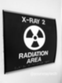 Radiation area by Your X-Ray Tech