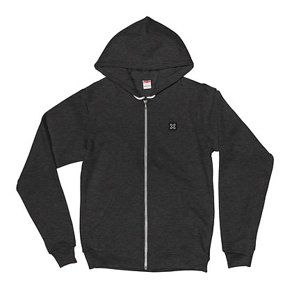 Hoodie Sweater with X Logo