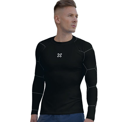 UnderScrub Black with Honeycomb sleeves