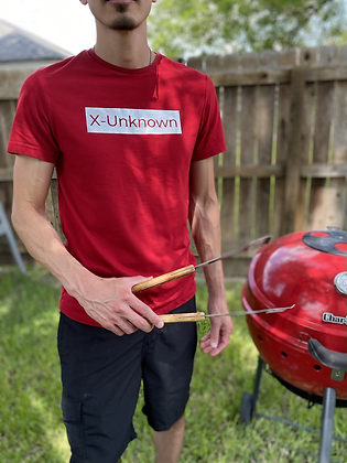 X-Unknown Red with Silver T-Shirt
