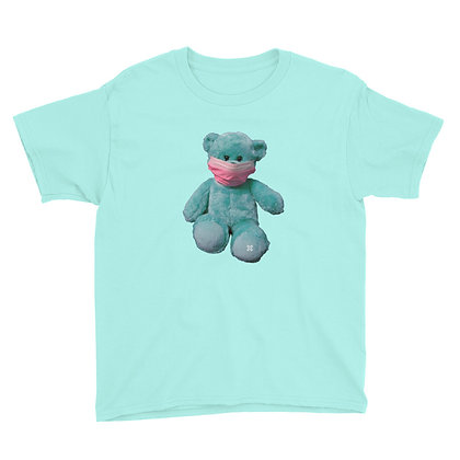 Teddy with Mask Youth Tee
