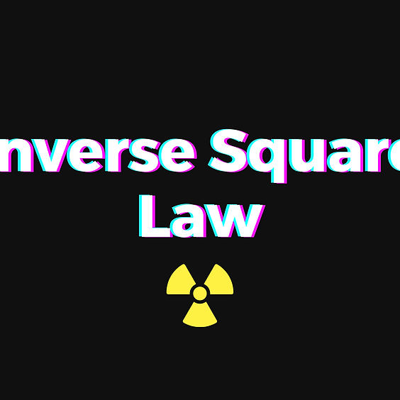 Inverse square law and how to solve for the direct square formula. (2)