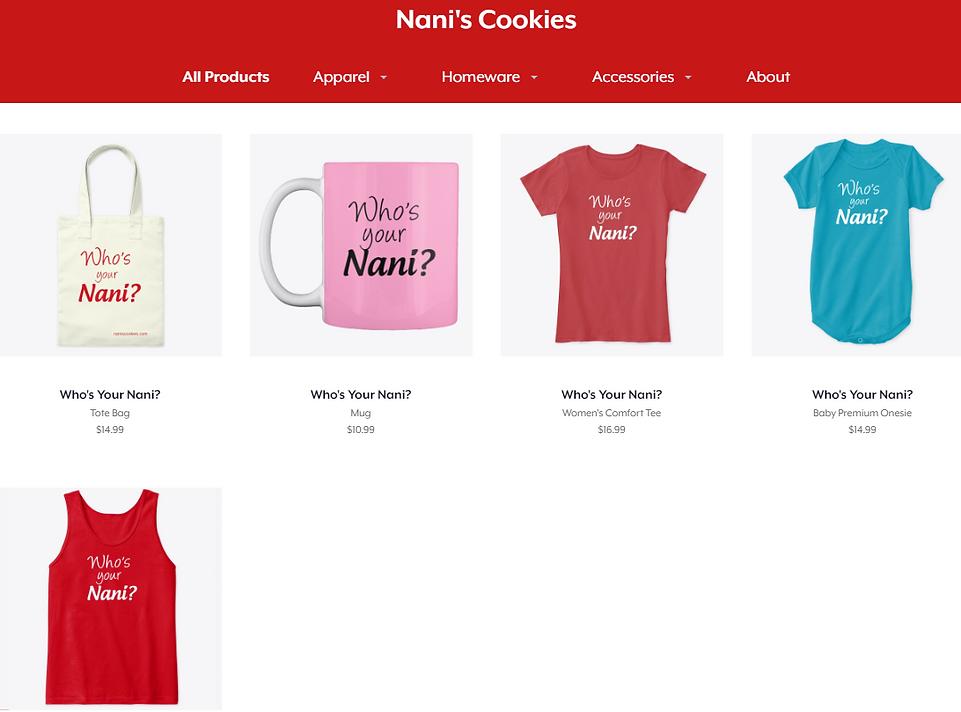 Shop Nani