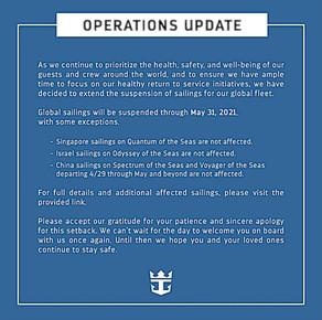 !!!Royal Caribbean Update!!!
