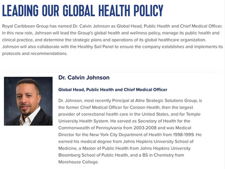 Introducing Dr. Calvin Johnson