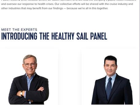 Royal Caribbean's Healthy Sail Panel