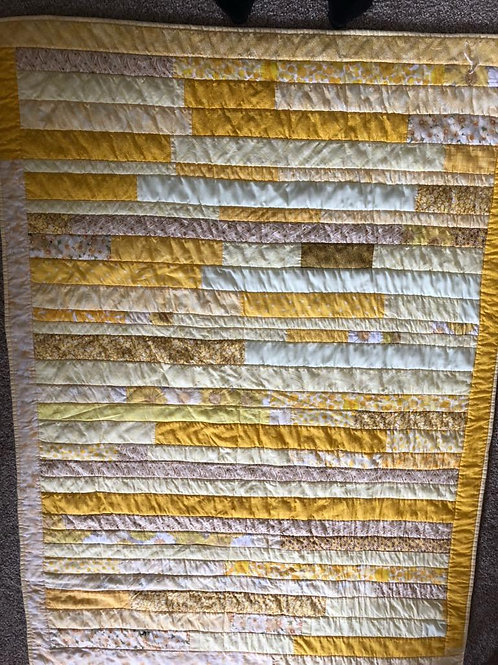 Sunny Yellow Quilt