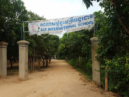 First Day in Svay Reing