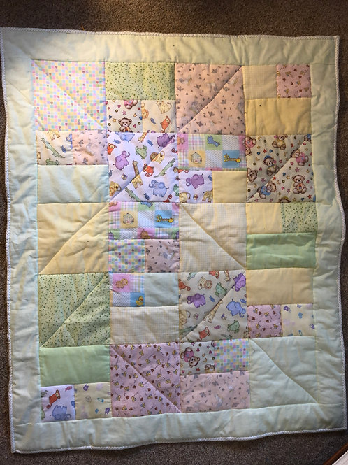 Cozy Flannel Baby Quilt