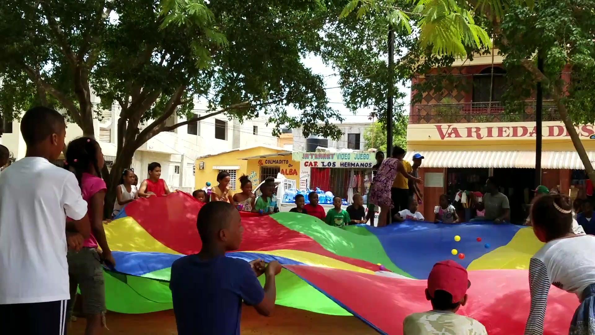 Games at the La Romana Park