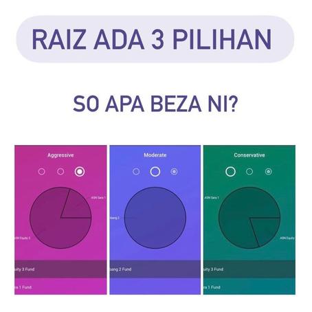 RAIZ Ada 3 Pilihan