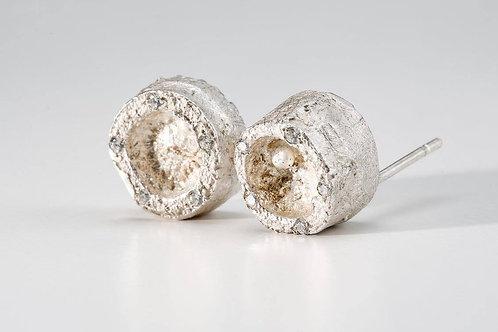 Frosty Structure earrings