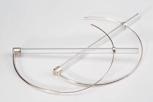 Universe Geometry earrings