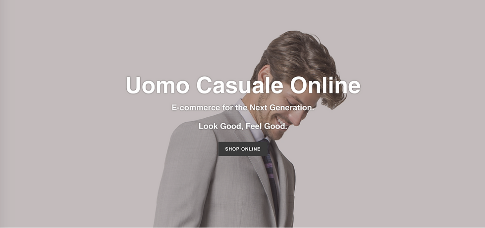 Uomo Casuale Online Shopping.png
