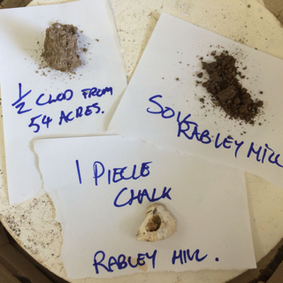 Documentation of Rabley Finds