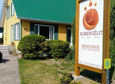Ouverture d'Aubergélit réussis!