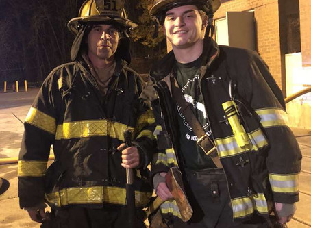 Myles Ackerson - Firefighter of the Month March