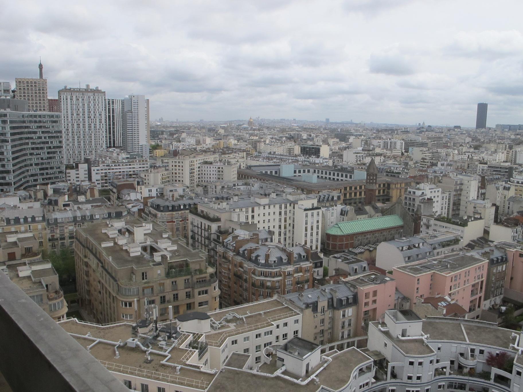 appartement vue panoramique paris