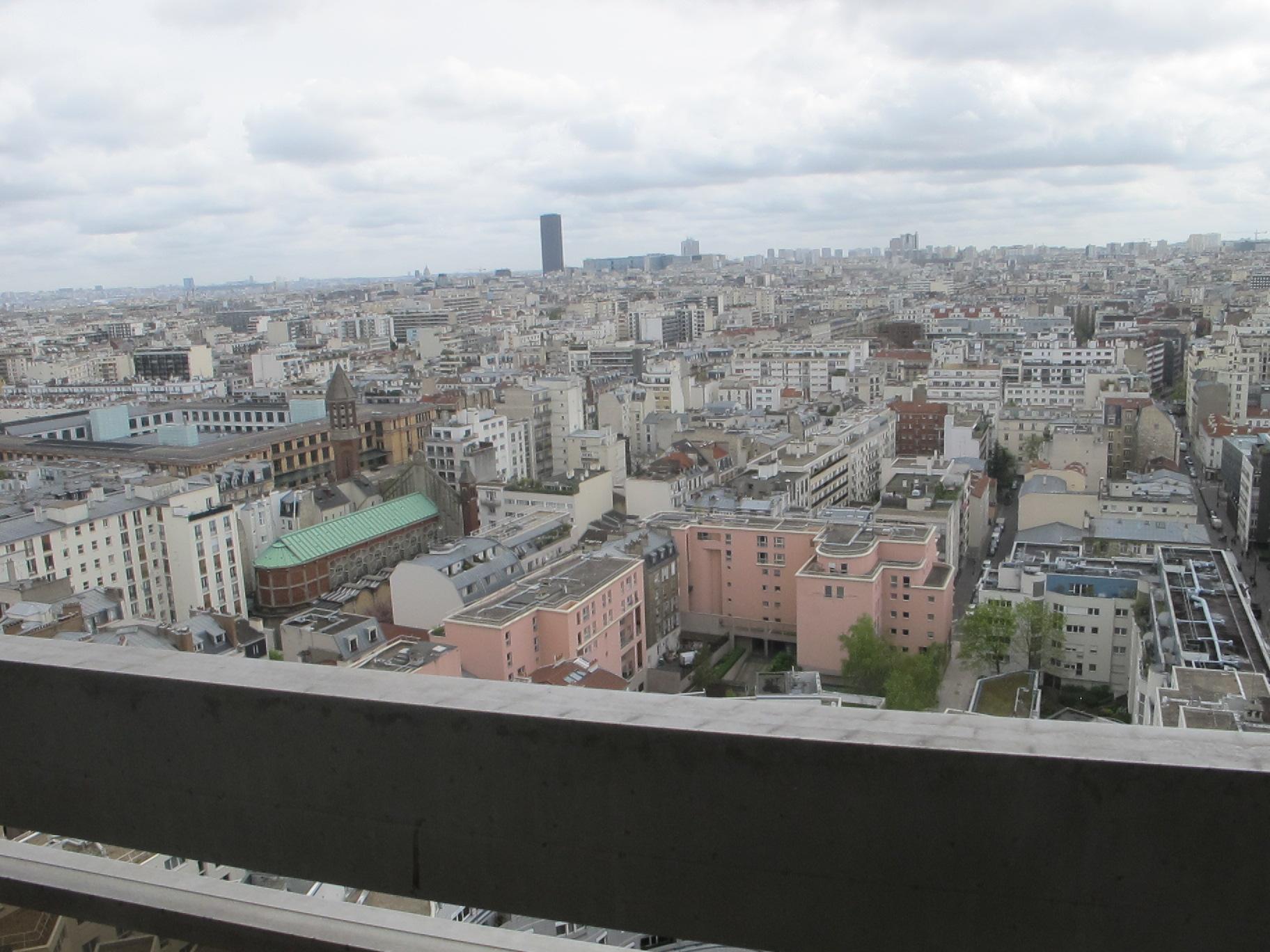 vue panoramique balcon