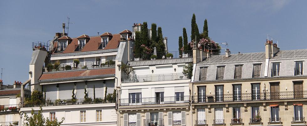 Toits et terasse - Paris