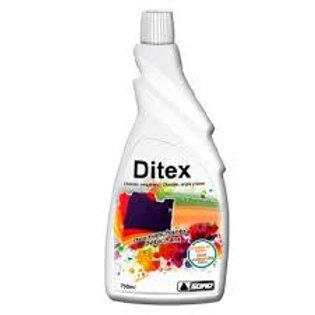 Desmanchante de chocolate, sangre, huevo y vino DITEX