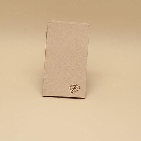 SERVILLETA 30X40 NATURE PLEGADO 1/6 P&P