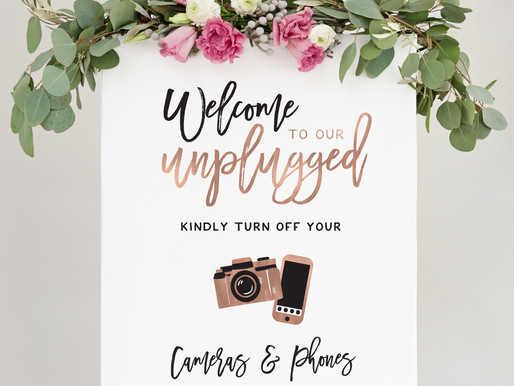 7 Ways To Encourage Guests To Put Down Their Phones On Your Wedding Day