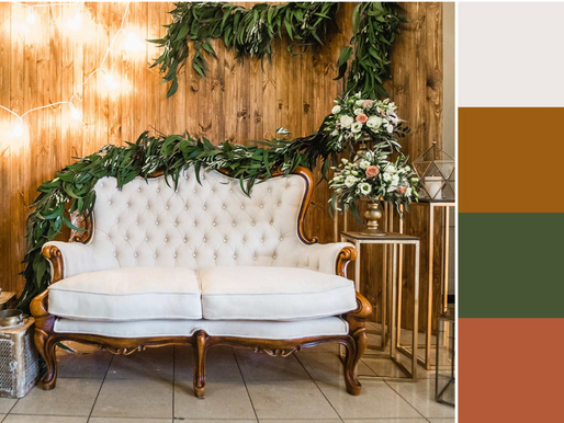 8 Colour Combinations for Your Wedding Decor