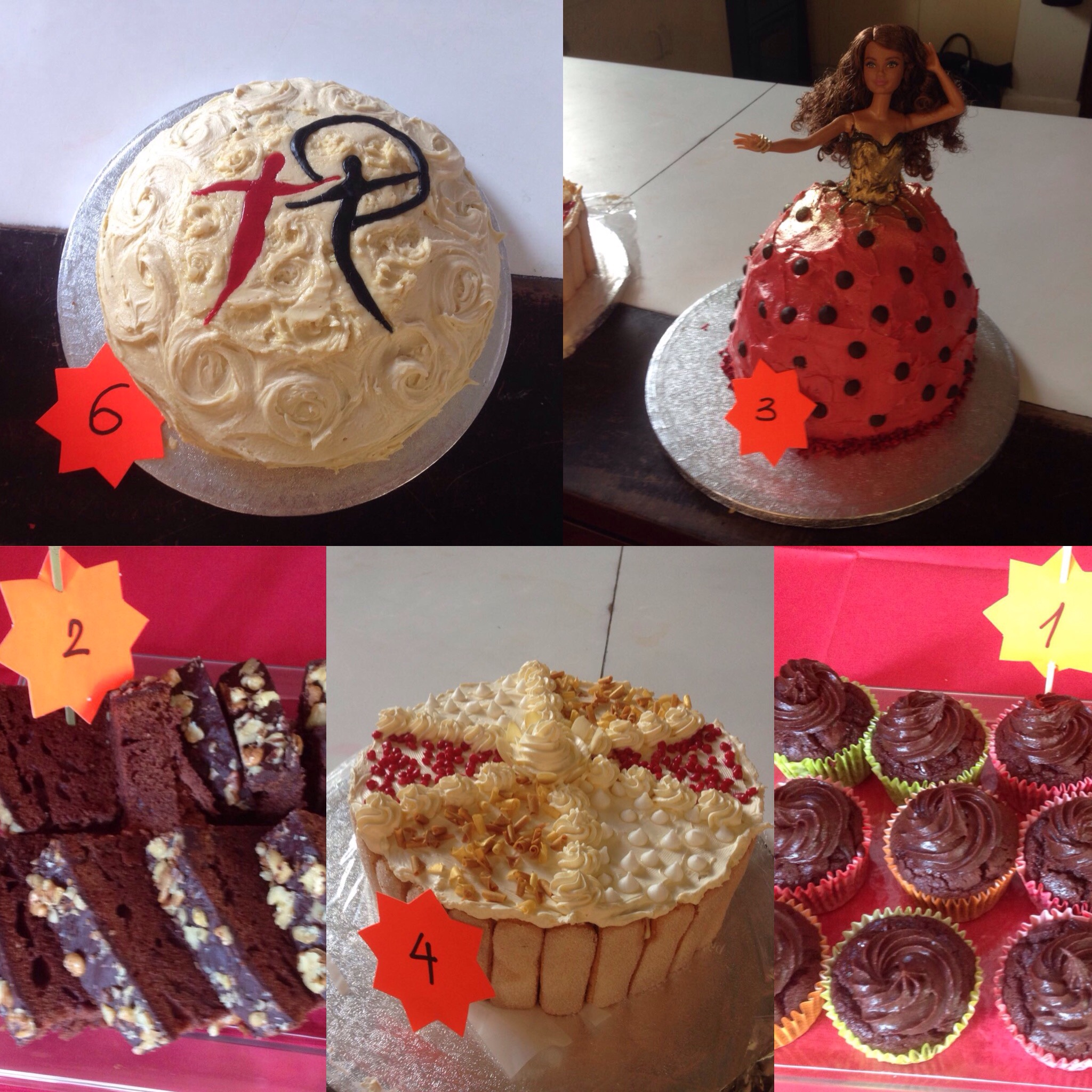 Cakes made by our Princeps Dancers