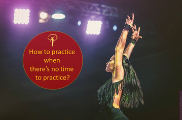 How to practice when you don't have time to practice?