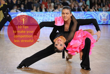 10 Tips to make your dance competition less stressful.